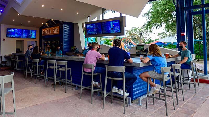 Glacier Bar: Mais novo bar do SeaWorld já está aberto