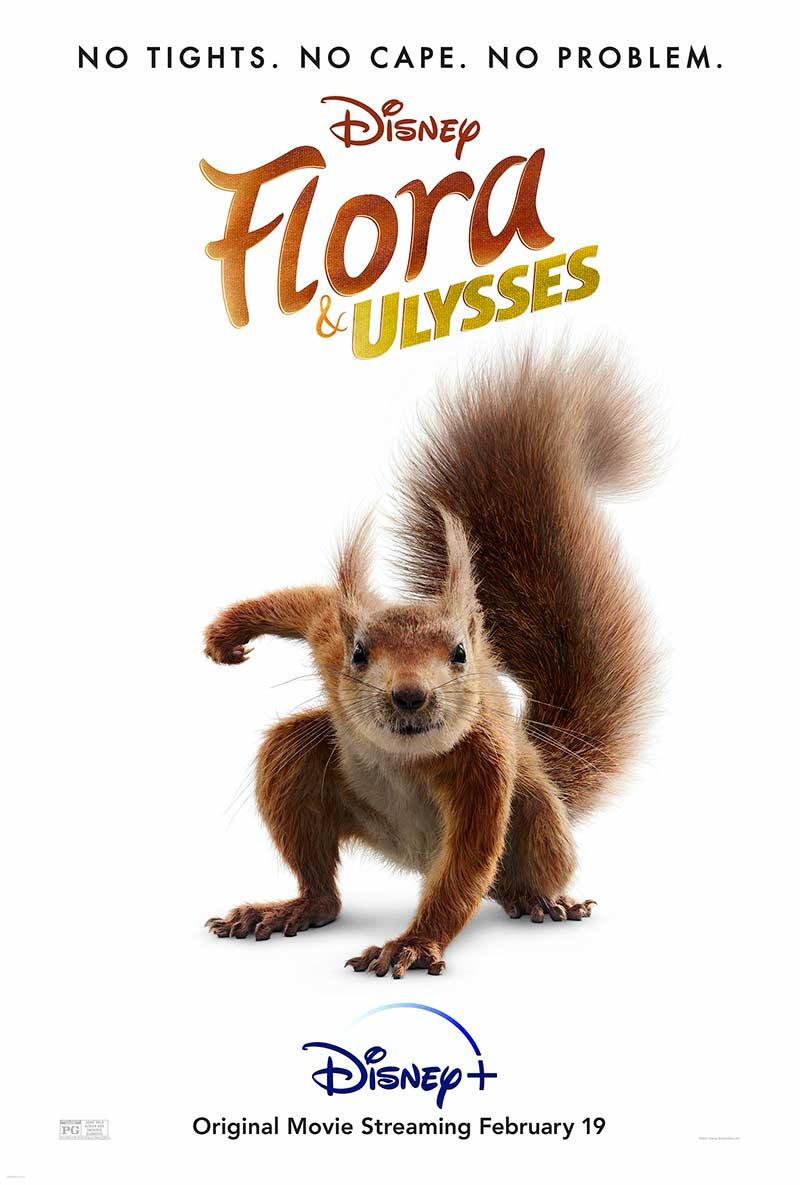 Disney+: Flora e Ulysses ganha primeiro trailer e poster