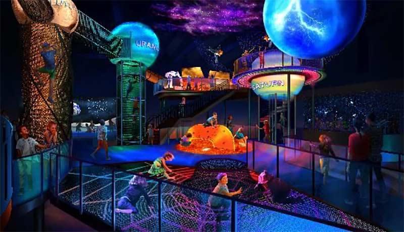 Planet Play é a nova experiência para crianças no NASA Kennedy Space